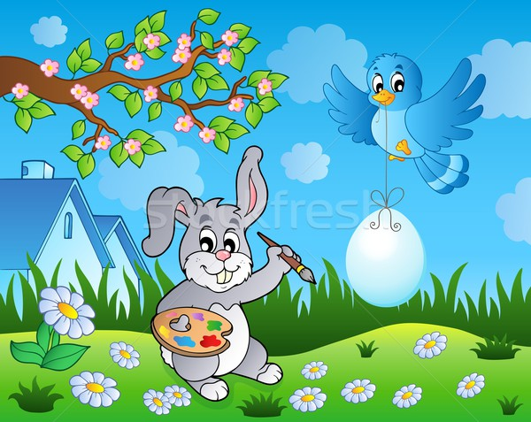 Easter bunny topic image 7 Stock photo © clairev