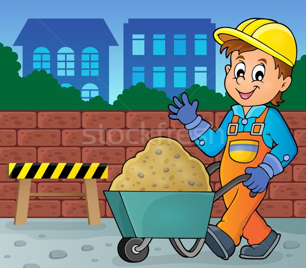 Construction worker theme image 2 Stock photo © clairev