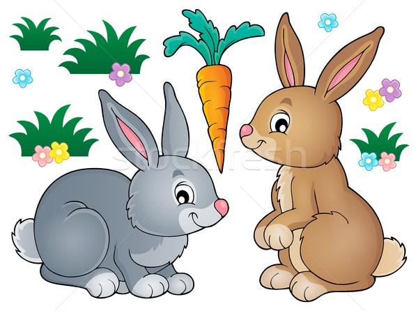 Rabbit topic image 1 Stock photo © clairev