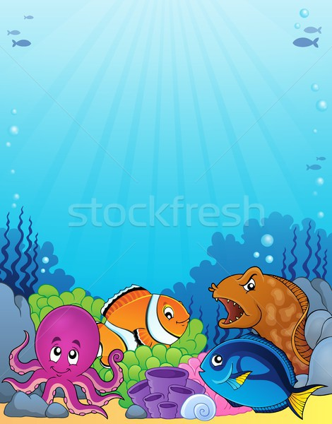 Coral fauna topic image 1 Stock photo © clairev
