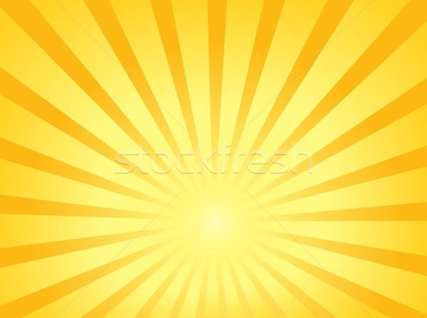 Sun theme abstract background 1 Stock photo © clairev