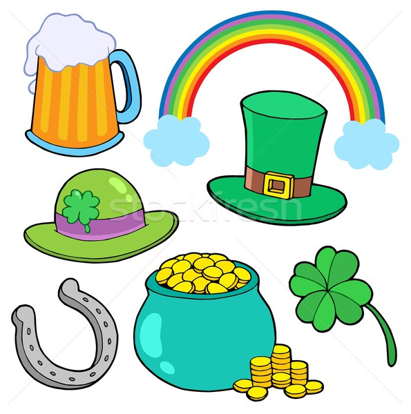 St Patricks day collection Stock photo © clairev