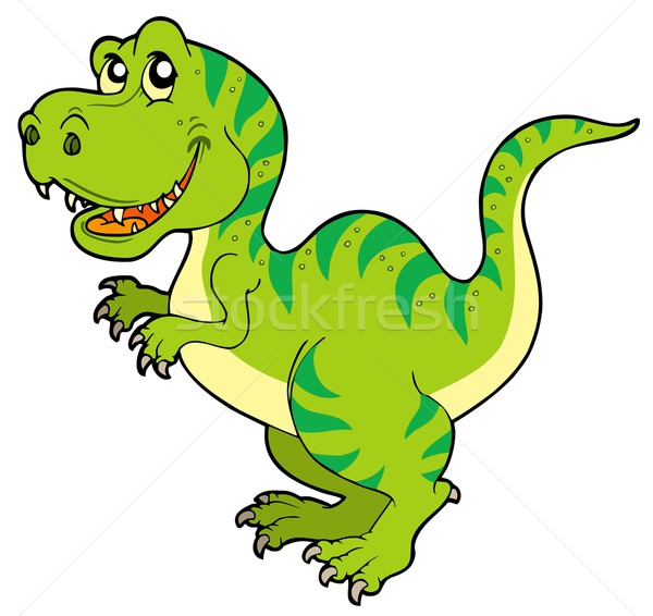 Cartoon tyrannosaurus rex Stock photo © clairev