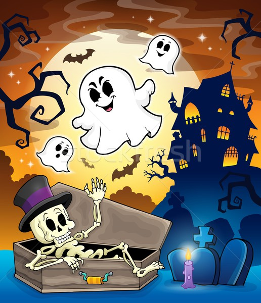 Haunted house topic image 1 Stock photo © clairev