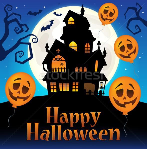 Happy Halloween sign thematic image 7 Stock photo © clairev
