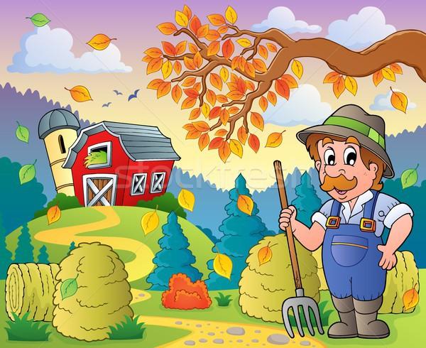 Autumn farm theme 9 Stock photo © clairev