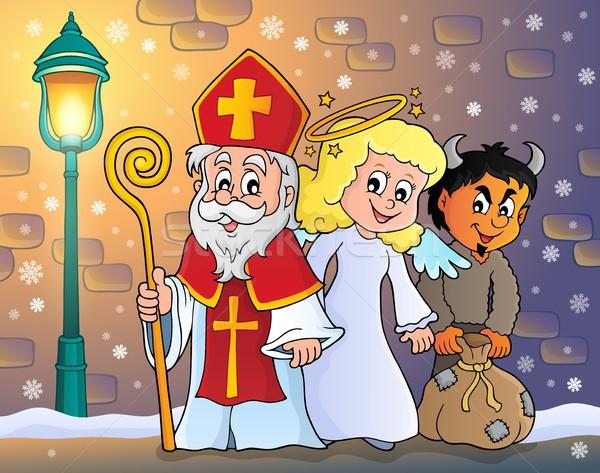 Saint Nicholas Day theme 5 Stock photo © clairev