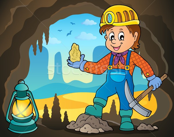 Miner theme image 4 Stock photo © clairev