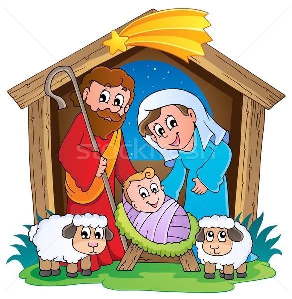 Christmas Nativity scene 2 Stock photo © clairev