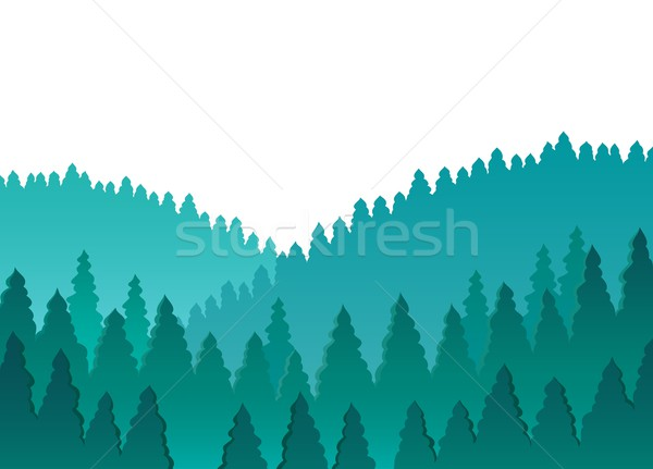 Forest theme image 1 Stock photo © clairev