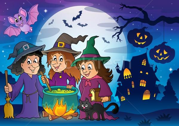 Three witches theme image 8 Stock photo © clairev