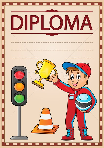 Stock photo: Diploma topic image 5