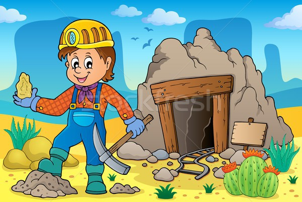 Miner theme image 2 Stock photo © clairev