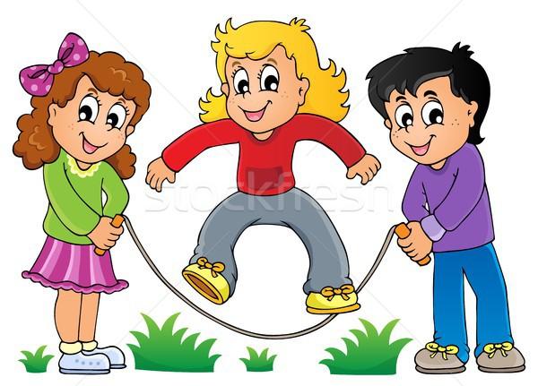 Kids play theme image 1 Stock photo © clairev