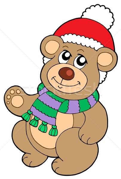 Christmas teddy bear Stock photo © clairev