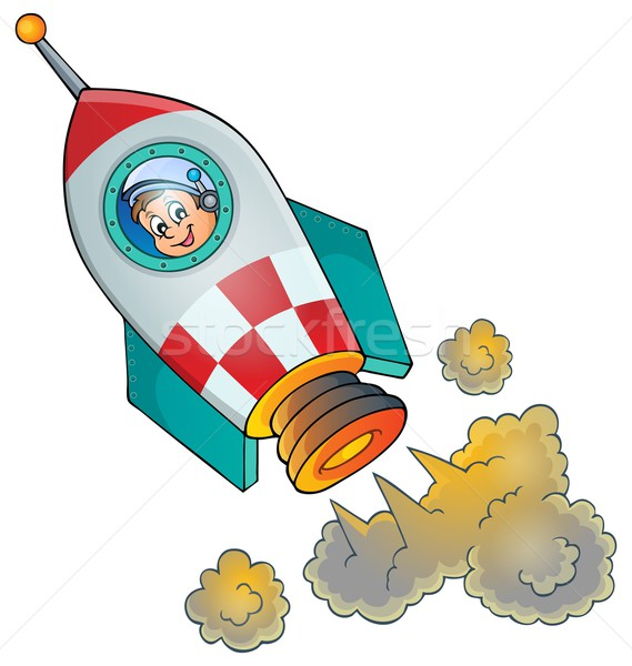 Image of small spaceship Stock photo © clairev