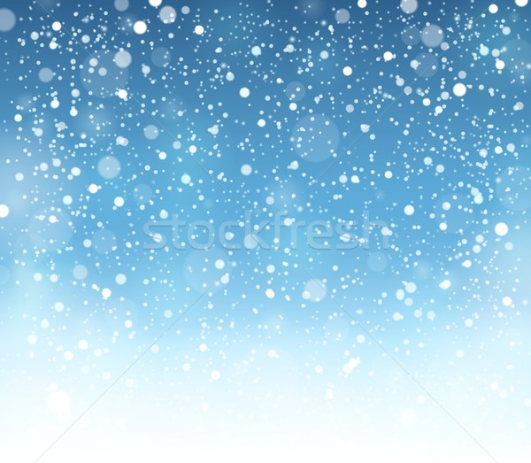 Abstract snow theme background 7 Stock photo © clairev