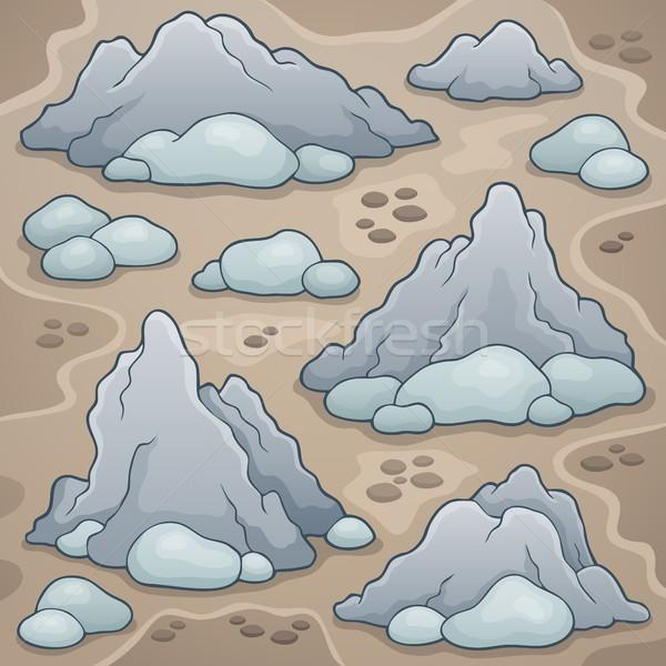 Rocas imagen naturaleza arte rock piedra Foto stock © clairev