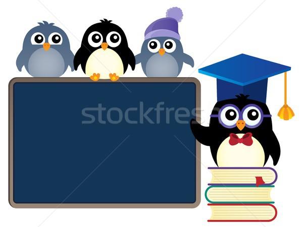School penguins theme image 1 Stock photo © clairev