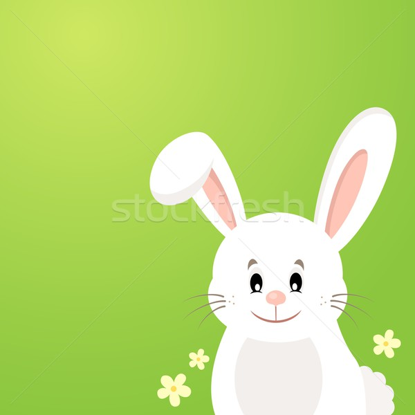Easter bunny thematic image 3 Stock photo © clairev