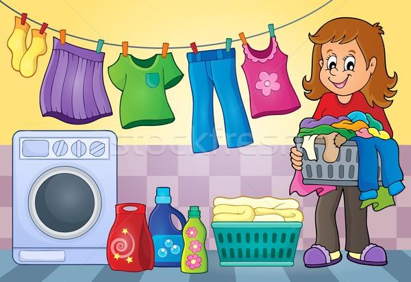 Laundry theme image 4 Stock photo © clairev