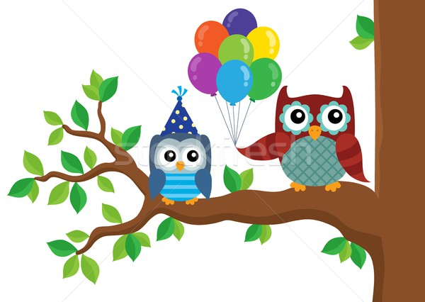 Party owls theme image 5 Stock photo © clairev
