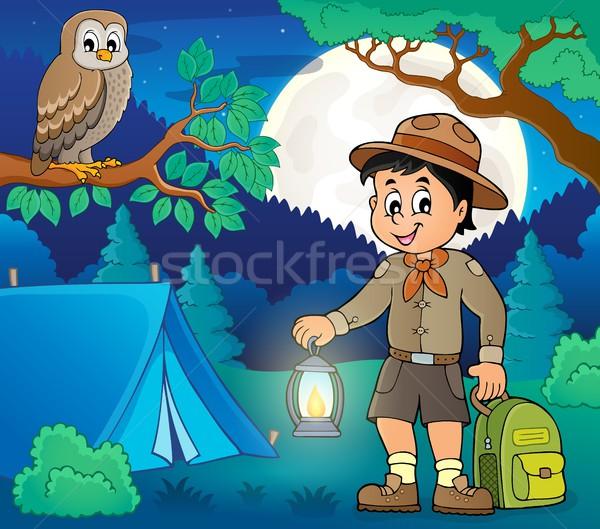 Scout boy theme image 5 Stock photo © clairev