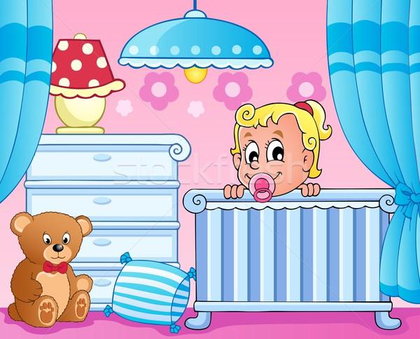 Baby room theme image 1 Stock photo © clairev