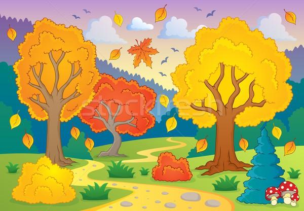Autumn thematic image 5 Stock photo © clairev