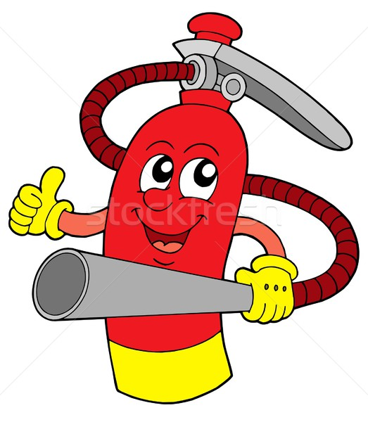 Extinguisher vector illustration Stock photo © clairev