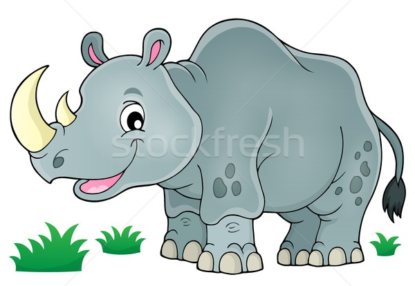 Rhino theme image 1 Stock photo © clairev