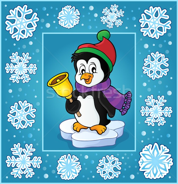 Christmas subject greeting card 6 Stock photo © clairev