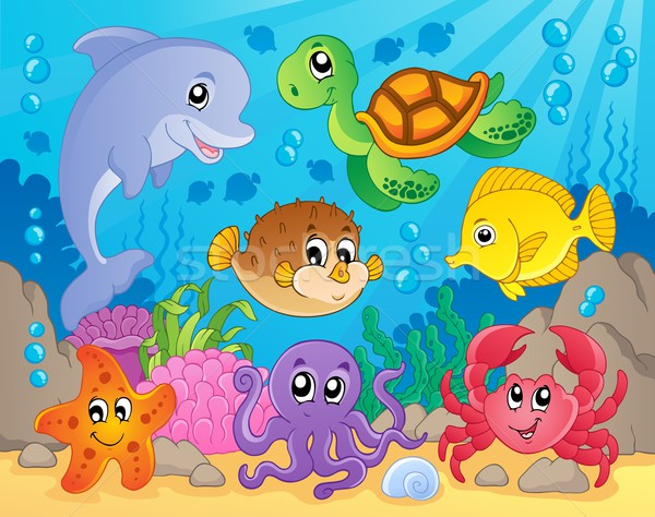 Coral reef theme image 5 Stock photo © clairev