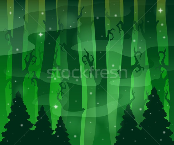 Mysterious forest theme image 8 Stock photo © clairev