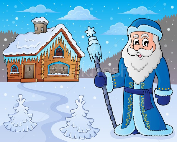 Father Frost theme image 7 Stock photo © clairev