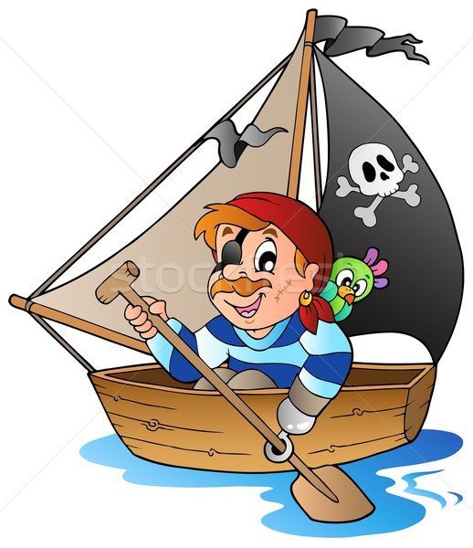 Young cartoon pirate 1 Stock photo © clairev