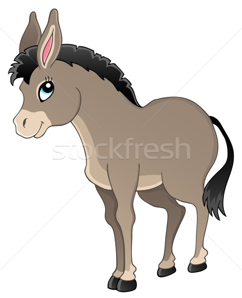 Donkey theme image 1 Stock photo © clairev