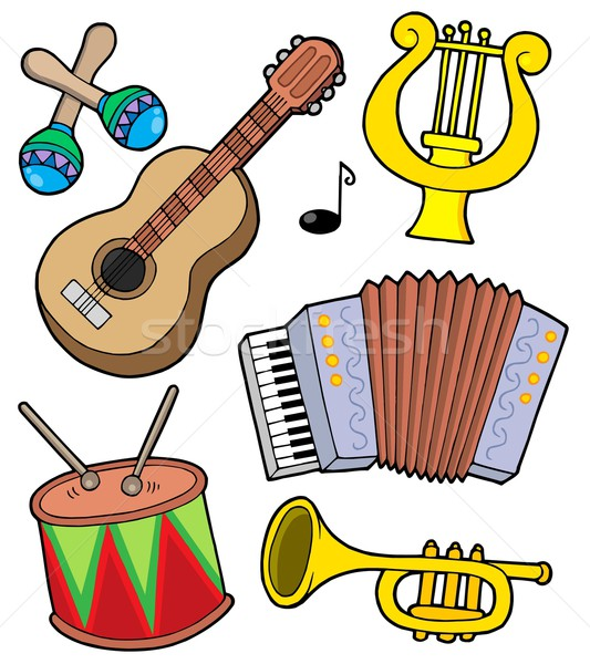 Music instruments collection 1 Stock photo © clairev