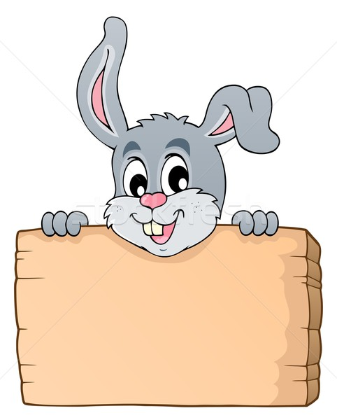 Image with rabbit theme 6 Stock photo © clairev