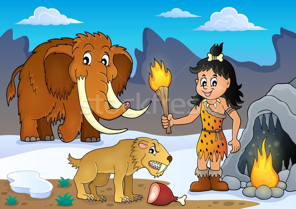 Prehistoric theme image 3 Stock photo © clairev