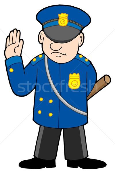 Policeman Stock photo © clairev