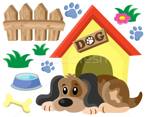 Dog thematic image 1 Stock photo © clairev