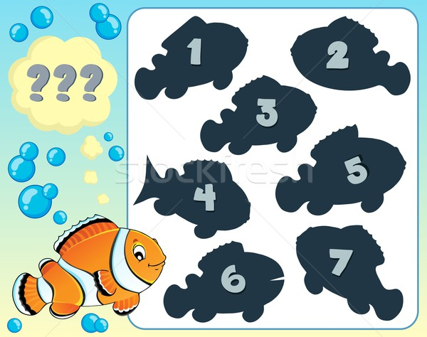 Fish riddle theme image 8 Stock photo © clairev