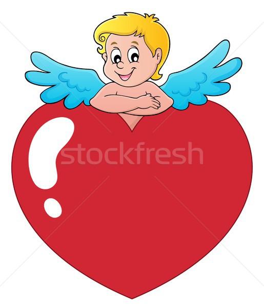 Cupid thematics image 2 Stock photo © clairev