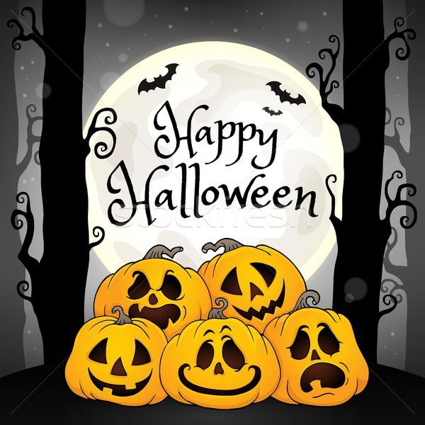 Happy Halloween composition image 5 Stock photo © clairev