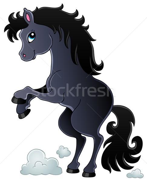 Horse theme image 2 Stock photo © clairev