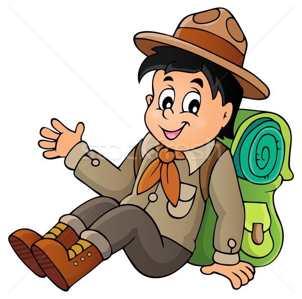 Scout boy theme image 1 Stock photo © clairev