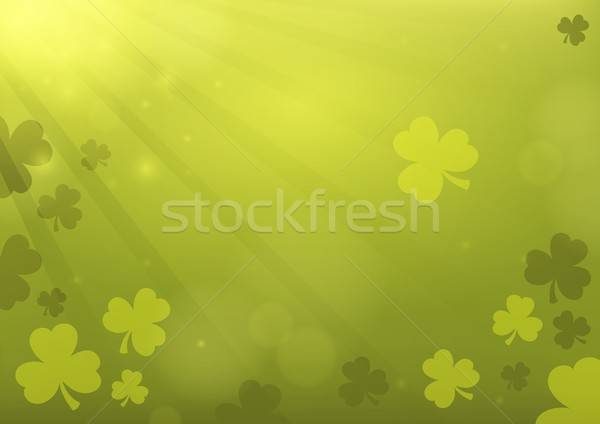 три лист клевера аннотация природы фон Сток-фото © clairev