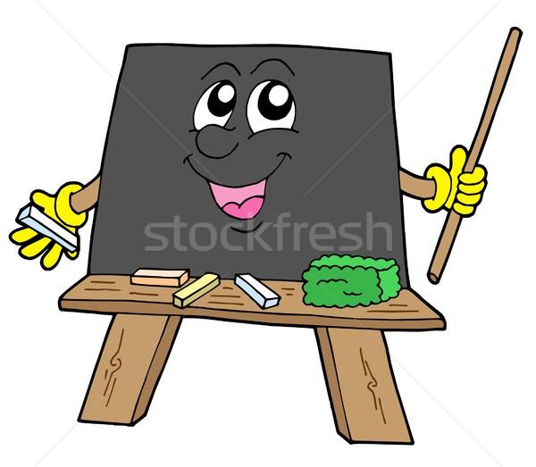 Cute blackboard Stock photo © clairev