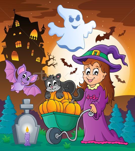 Halloween theme image 3 Stock photo © clairev